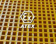 Atex anti-statiske fiberriste