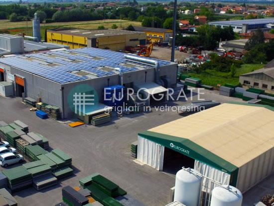 Fremstilling af industri hegn på fabrikken I Italien