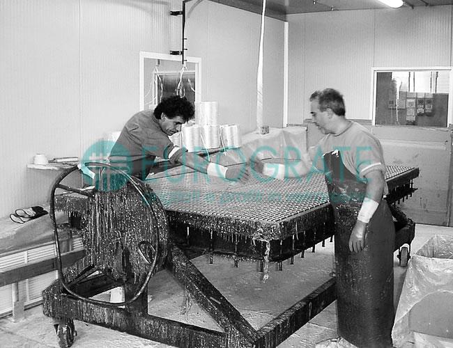 Ved fremstilling af industry hegn/riste benytter vi en anderledes metode end vores kollegaer