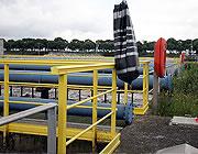 Installations control på sikkerheds gelænder
